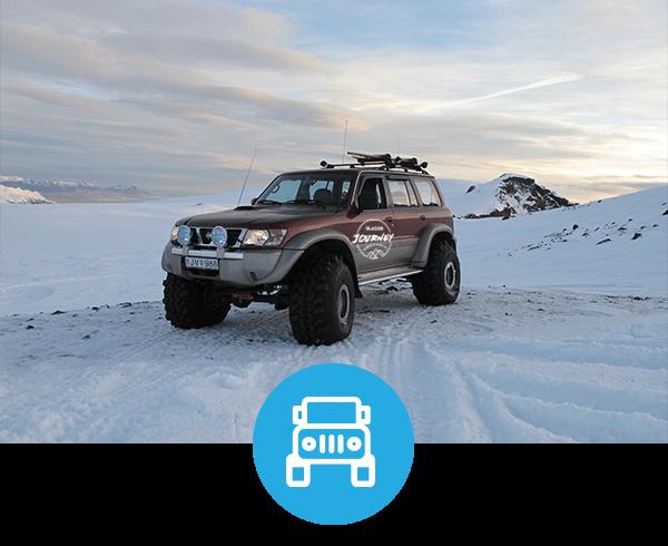 Glacier Jeep Tour Iceland
